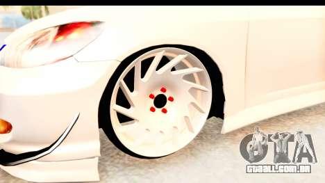 Honda Civic Vtec 2 Berkay Aksoy Tuning para GTA San Andreas vista traseira