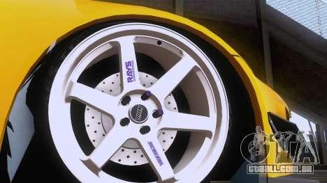 Honda S2000 para GTA San Andreas vista traseira