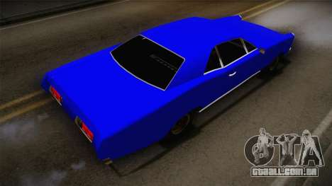 Bestia 1971 from Midnight Club 2 para GTA San Andreas traseira esquerda vista