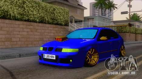 Seat Leon Haur Edition para GTA San Andreas vista direita