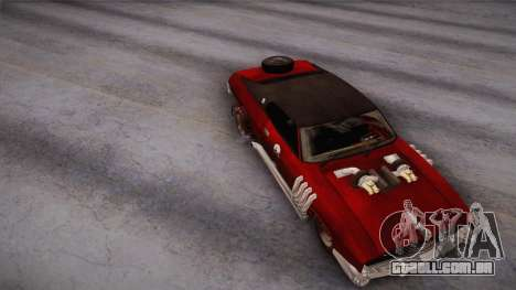 Ford Landau 1973 Mad Max 2 para GTA San Andreas vista direita