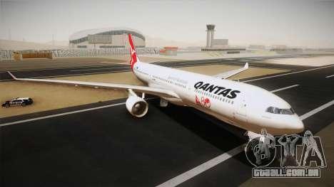 Airbus A330-300 Qantas 80 Years para GTA San Andreas