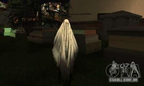 Transparent Ghost para GTA San Andreas por diante tela