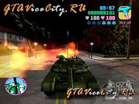 T80 para GTA Vice City deixou vista