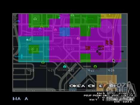 C-HUD BREZZ para GTA San Andreas segunda tela