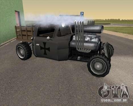 HotBaron para GTA San Andreas esquerda vista