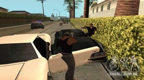 Cheetah Mod para GTA San Andreas por diante tela