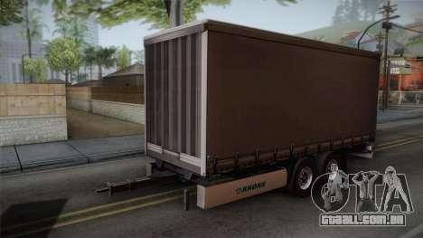 Mercedes-Benz Actros Mp4 v2.0 Tandem Trailer para GTA San Andreas