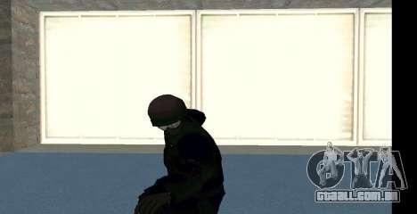 GTA 5 FIB SWAT Blue para GTA San Andreas sétima tela