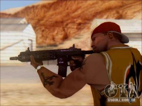 GTA 5 Vom Feuer Carbine Rifle para GTA San Andreas por diante tela