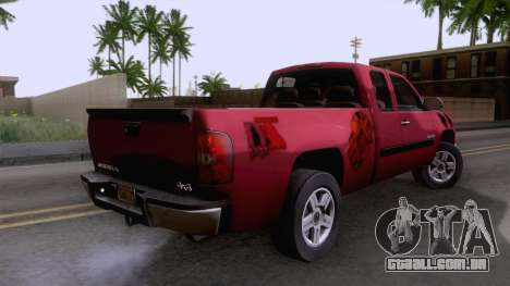 GMC Sierra 2015 para GTA San Andreas esquerda vista