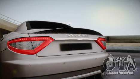 Maserati Gran Turismo Sport para GTA San Andreas vista direita