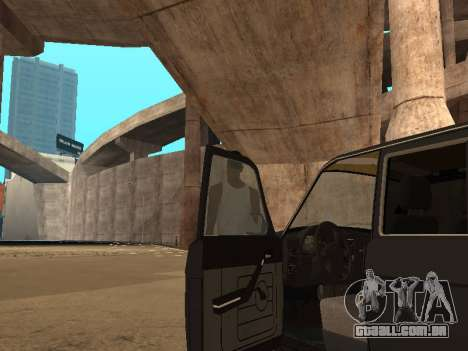 GAZ 310221 para GTA San Andreas vista interior