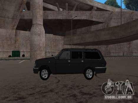 GAZ 310221 para GTA San Andreas vista direita