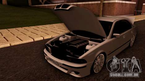 BMW M5 E39 para GTA San Andreas vista superior