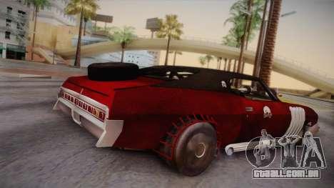 Ford Landau 1973 Mad Max 2 para GTA San Andreas esquerda vista