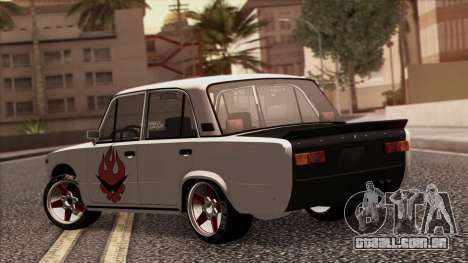 VAZ 2101 para vista lateral GTA San Andreas