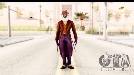 Watchman-Rorschach para GTA San Andreas segunda tela