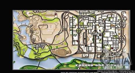 Remaster Map Full Version para GTA San Andreas segunda tela