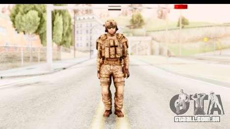 PLA American para GTA San Andreas segunda tela