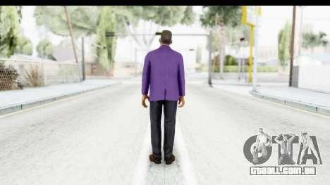 Will Smith Fresh Prince of Bel Air v2 para GTA San Andreas terceira tela