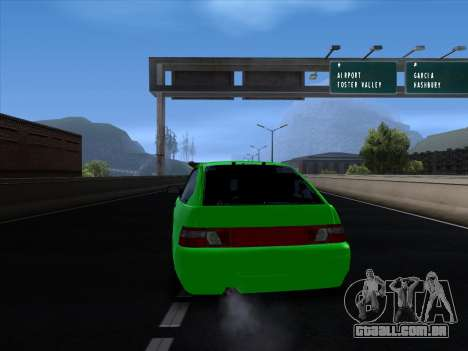 VAZ 2112 para GTA San Andreas vista direita