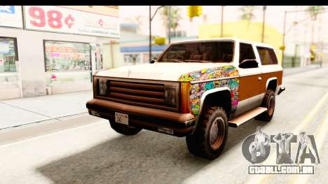 Rancher Sticker Bomb para GTA San Andreas