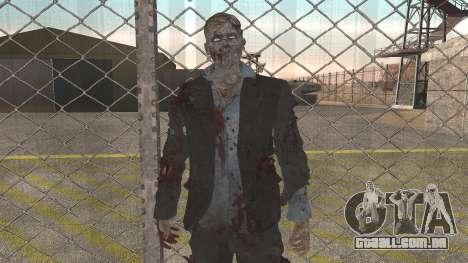 Zombie from Black Ops 3 para GTA San Andreas segunda tela