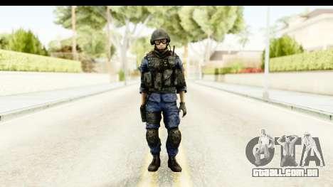 PLA Chinese para GTA San Andreas segunda tela