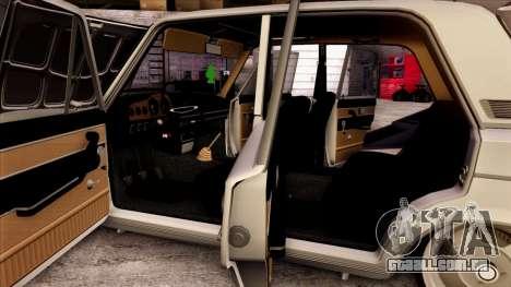 VAZ 2103 para as rodas de GTA San Andreas