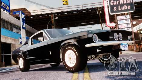 Ford Mustang Shelby GT500 1967 para GTA 4