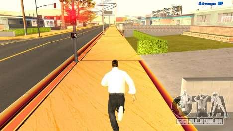 Corrida sem fim para GTA San Andreas segunda tela