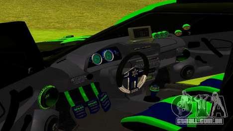 ВАЗ 2114 DTM TURBO SPORTS para GTA San Andreas vista interior