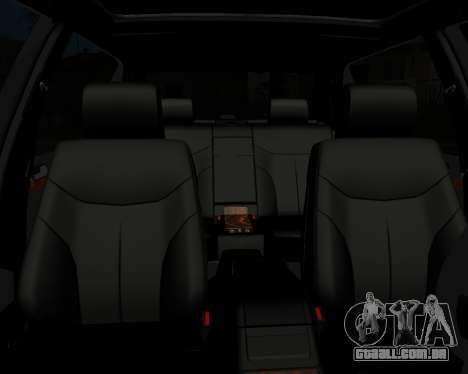 Mercedes S-600 Armenian para vista lateral GTA San Andreas