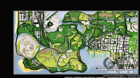 Remaster Map Full Version para GTA San Andreas terceira tela