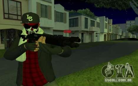 GTA Online Skin para GTA San Andreas segunda tela
