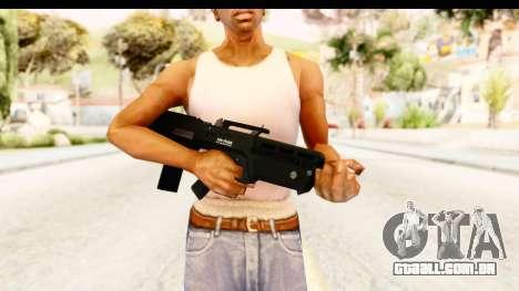 GTA 5 Vom Feuer Advanced Rifle para GTA San Andreas terceira tela