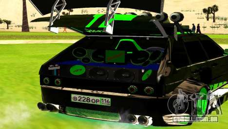 ВАЗ 2114 DTM TURBO SPORTS para GTA San Andreas vista direita
