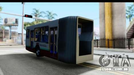 Metrobus de la Ciudad de Mexico Trailer para GTA San Andreas vista direita