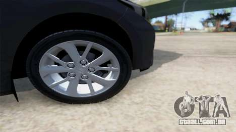 Toyota Corolla 2014 HQLM para GTA San Andreas vista direita