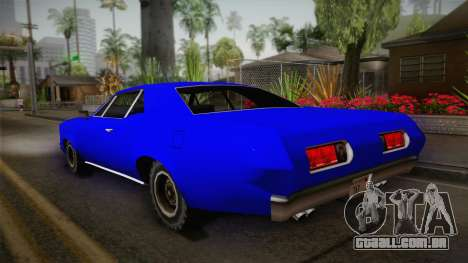 Bestia 1971 from Midnight Club 2 para GTA San Andreas esquerda vista