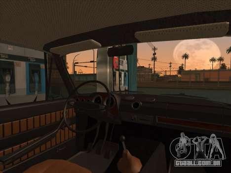 VAZ 2103 Resto para GTA San Andreas traseira esquerda vista