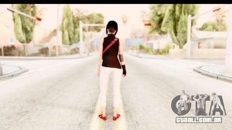 Mirrors Edge Catalyst Faith para GTA San Andreas terceira tela