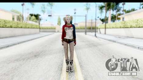 Suicide Squad - Harley Quinn para GTA San Andreas segunda tela