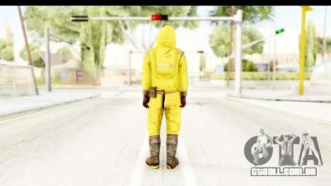 Zombie Radioactivo para GTA San Andreas terceira tela