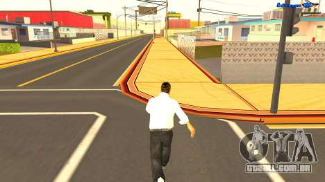 Corrida sem fim para GTA San Andreas terceira tela