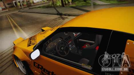 Nissan 180SX Rocket Bunny para GTA San Andreas vista interior