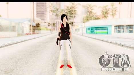 Mirrors Edge Catalyst Faith para GTA San Andreas segunda tela