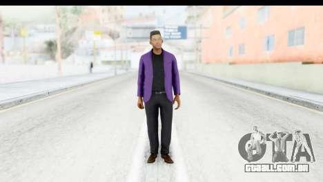 Will Smith Fresh Prince of Bel Air v2 para GTA San Andreas segunda tela