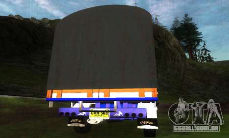 Ford Transit Stylo Colombia para GTA San Andreas traseira esquerda vista